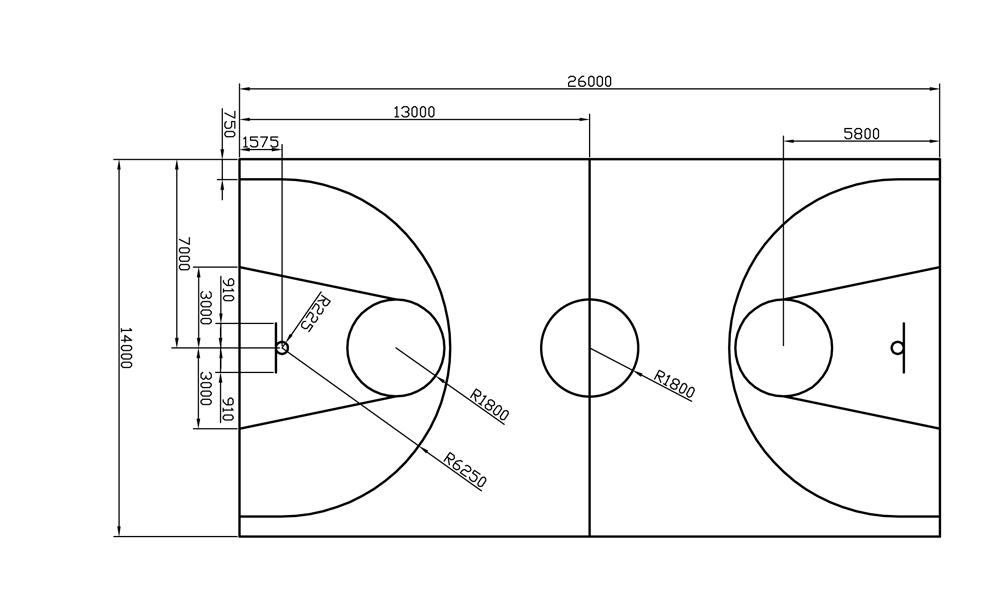 Basketbalveld - Minimaal