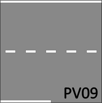 2 Baansweg met invoeg B -645