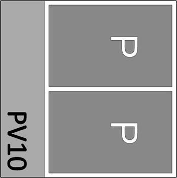 2 Parkeerplaatsen + 2 x Letter P
