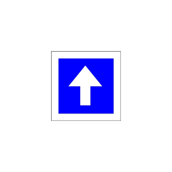 Eenrichtingsweg 28x28 -615